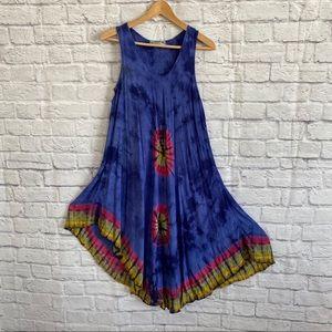 3/$30🦋 DYLANS Tie Dye Boho Dress